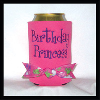 Ready to Ship Birthday Princess Can Cooler