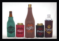 Classic Name Frame Can and Bottle Coolers