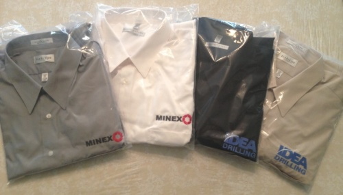 IDEA Drilling and Minex Shirts