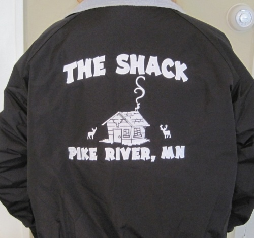 The Shack Jacket with Embroidery