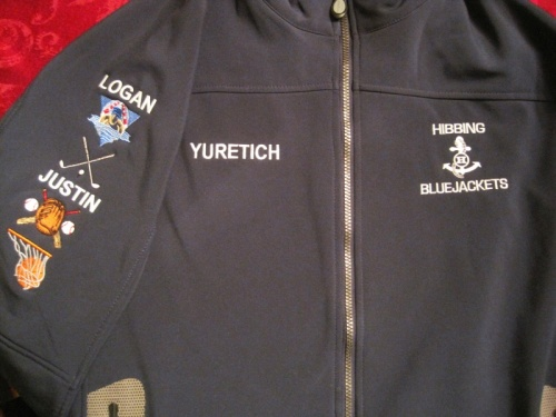 Hibbing Jacket Apparel Personalized with Embroidery