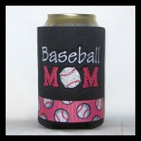 Ready to Ship Baseball Mom Can Cooler