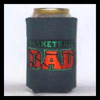 Ready To Ship BASKETBALL DAD Can Cooler