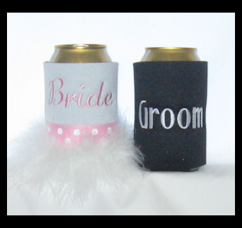 His & Hers Beverage Cooler Wedding Set