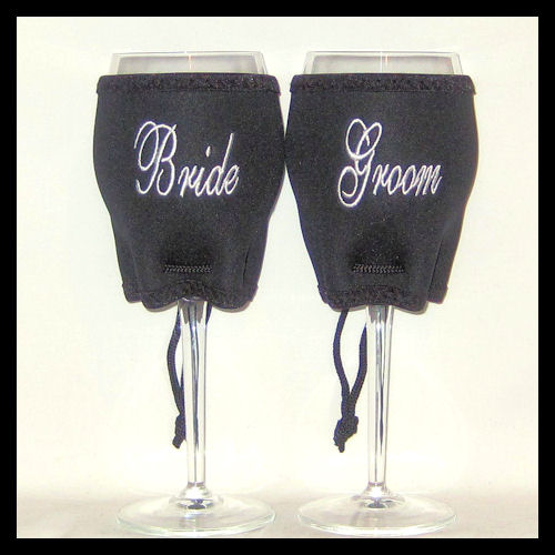 Ready to Ship Bride/Groom Woozie Set