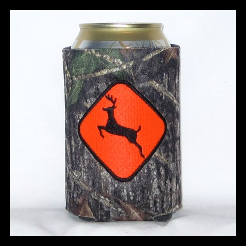 Ready to Ship Deer Crossing Can Cooler