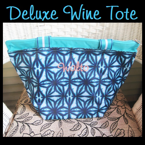 Deluxe Insulated Wine Totes