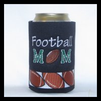 Ready to Ship Football Mom Can Cooler
