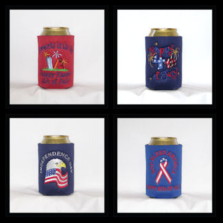 Ready To Ship Fourth Of July Can Coolers