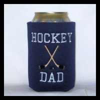Ready to Ship Hockey Dad Can Cooler