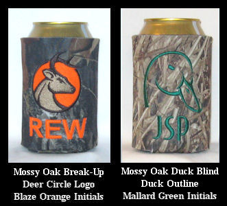 Mossy Oak Camo Can & Bottle Coolers