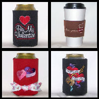 Ready To Ship Valentine's Day Can Coolers